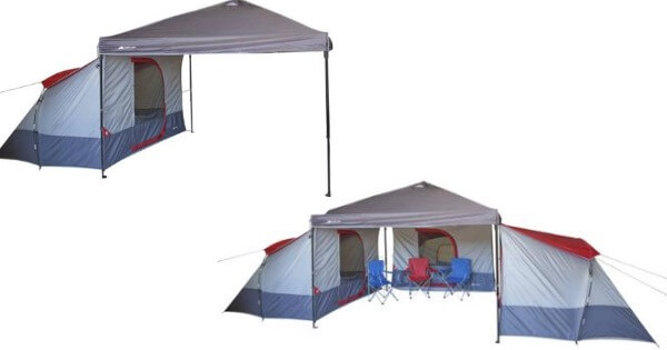 tent  sc 1 st  Living Rich With Coupons & Ozark Trail 4-Person ConnecTent for Canopy Just $39.97Living Rich ...