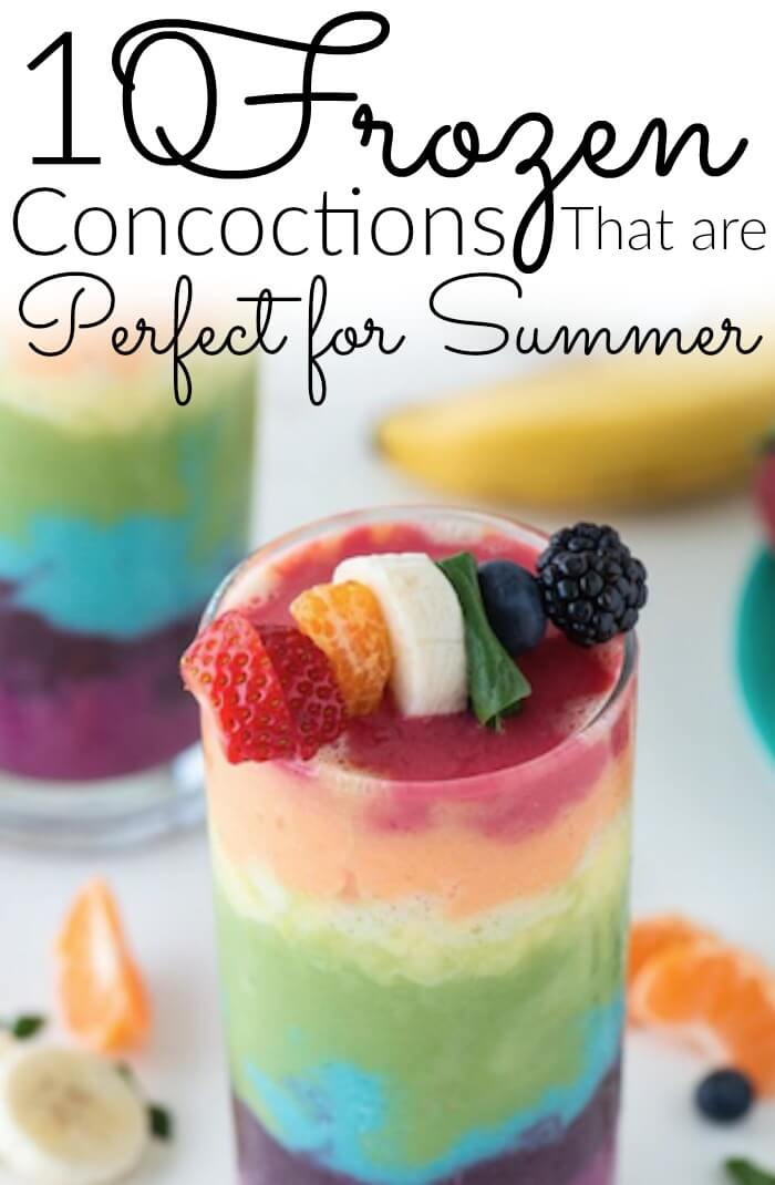 10 Frozen Concoctions that are Perfect for Summer