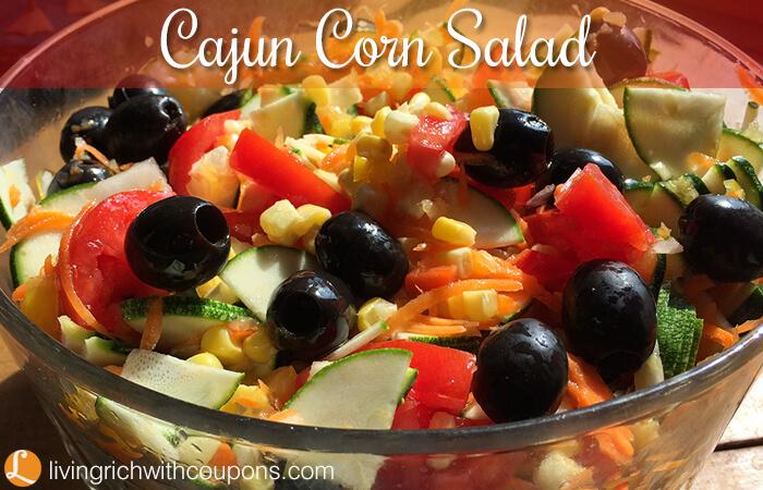 Cajun Corn Salad