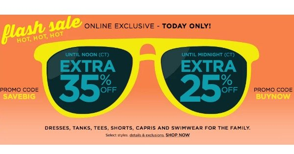 db6a086828f Kohl s Flash Sale  Up to 70% off Clearance + Additional 35% OFF ...