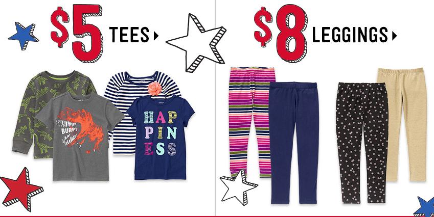 Crazy 8 Kids Jeans $8 88, Dresses $6 99, Tees $5 + Free