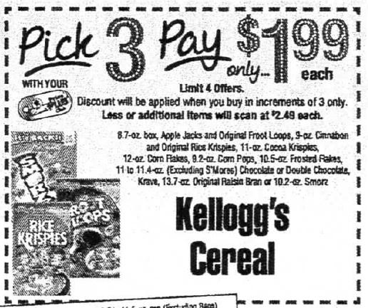 Kellogg's Smorz Cereals Just $0.46 At ShopRite + More