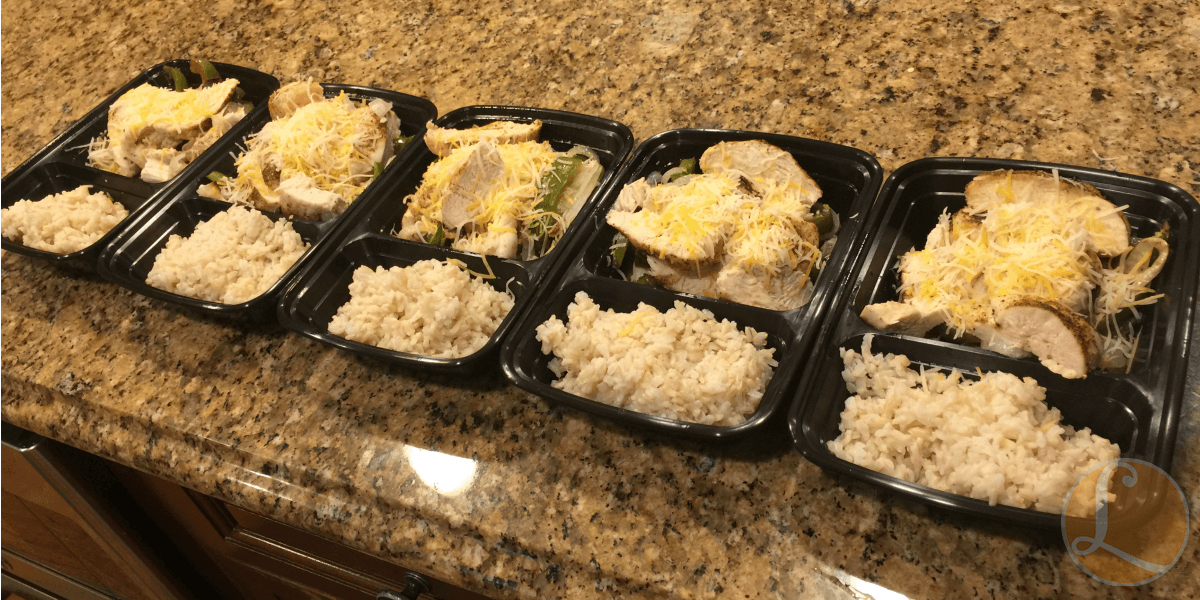 Meal Prep Recipe - Chicken Fajita Bake