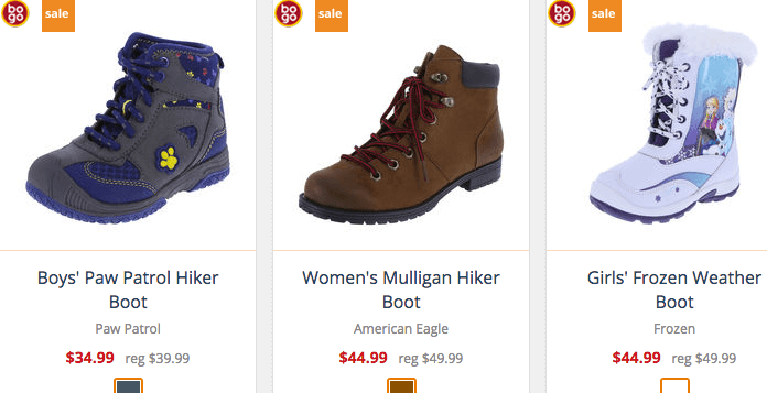 8d3f8d9da30 Payless Shoes: BOGO 50% OFF + Additional 31% OFF {Today Only}Living ...