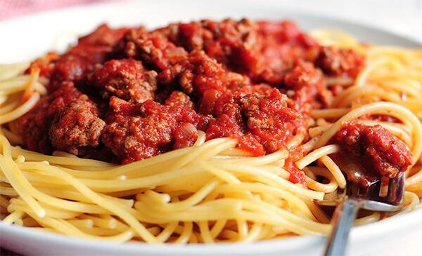 Spaghetti with Italian Meat Sauce