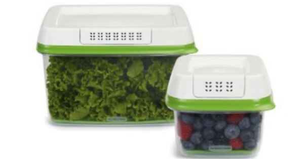 Vegetable Saver Containers Rubbermaid freshworks produce saver containers 1019 reg 1998 aa workwithnaturefo