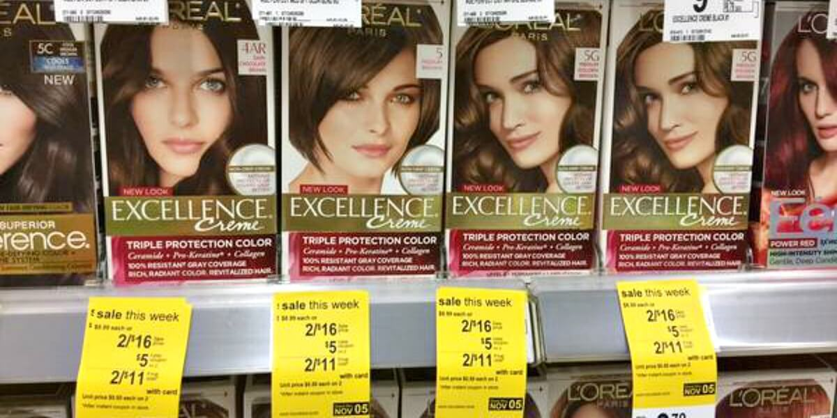 Loreal Excellence Hair Color Just 250 At Walgreensliving Rich