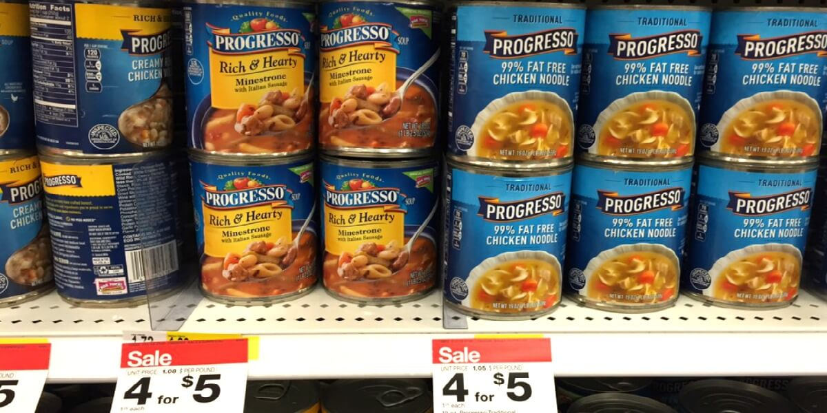 graphic regarding Printable Progresso Soup Coupons named Progresso Soups Basically $0.60 at Concentration!Residing Prosperous With Coupons®
