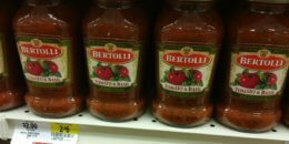 Bertolli Pasta Sauce Just $0.99 at ShopRite!