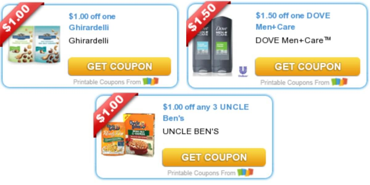photo relating to Ghirardelli Printable Coupon called Todays Supreme Refreshing Discount coupons - Cost savings towards Uncle Bens