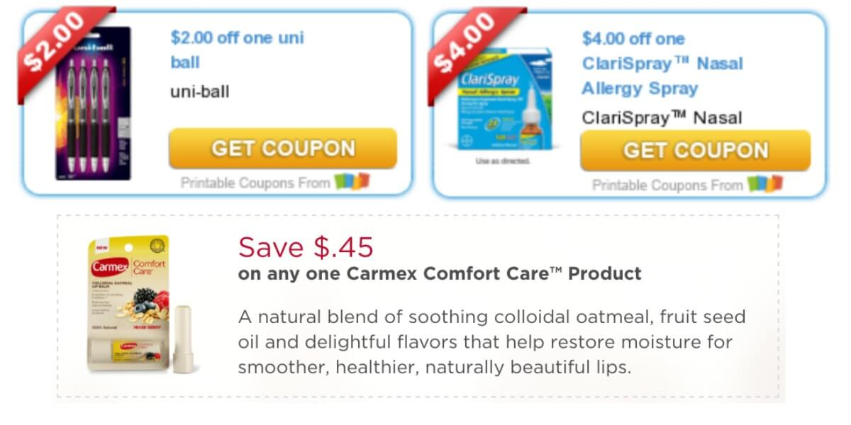image regarding Marie Callender Coupons Printable called Todays Supreme Refreshing Coupon codes - Personal savings versus Carmex, Marie
