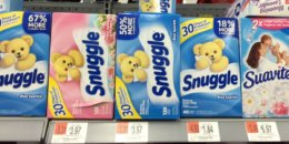 Snuggle Fabric Softener Sheets Only $0.84 at Walmart!