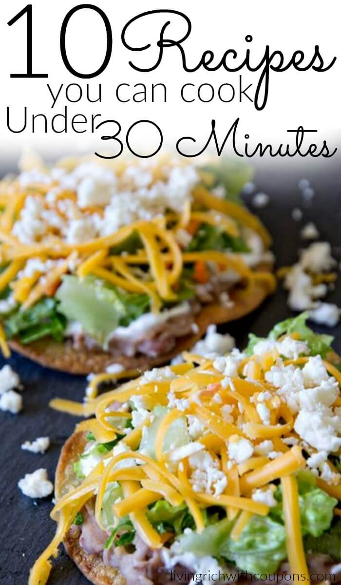 10-recipes-you-can-cook-under-30-minutes