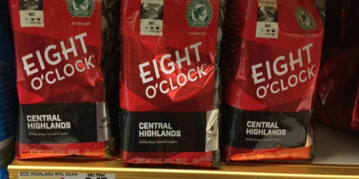 Eight O'Clock Coffee as Low as $2.10 at Stop & Shop and Giant/Martin