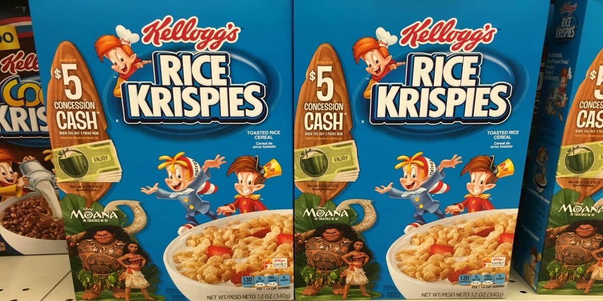 New $1/2 Kellogg's Rice Krispies or Cocoa Krispies Cereals Coupon & Deals!