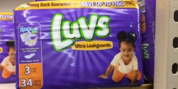 Luvs Jumbo Pack Diapers Just $6 at Walgreens!