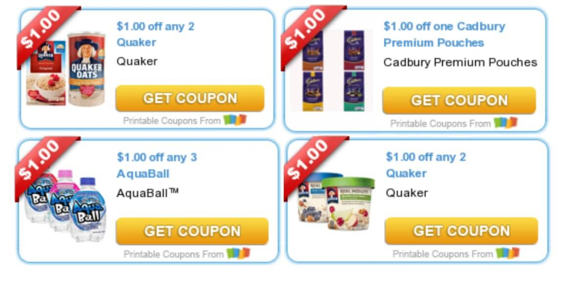 photo about Quaker Printable Coupons titled Todays Final Fresh new Discount coupons - Financial savings against Quaker, AquaBall