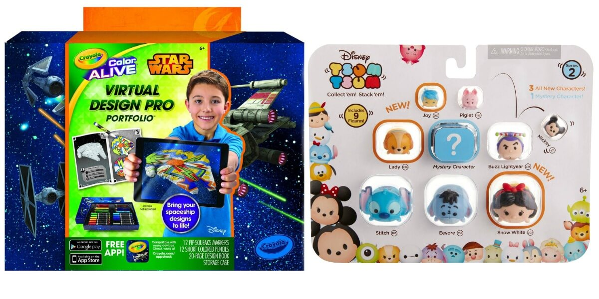 today only save 50 off disney tsum tsum 9 packs star wars