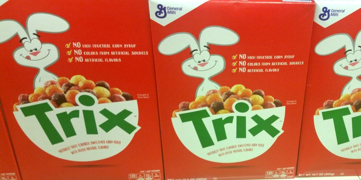 Trix Cereal Coupon February 2019
