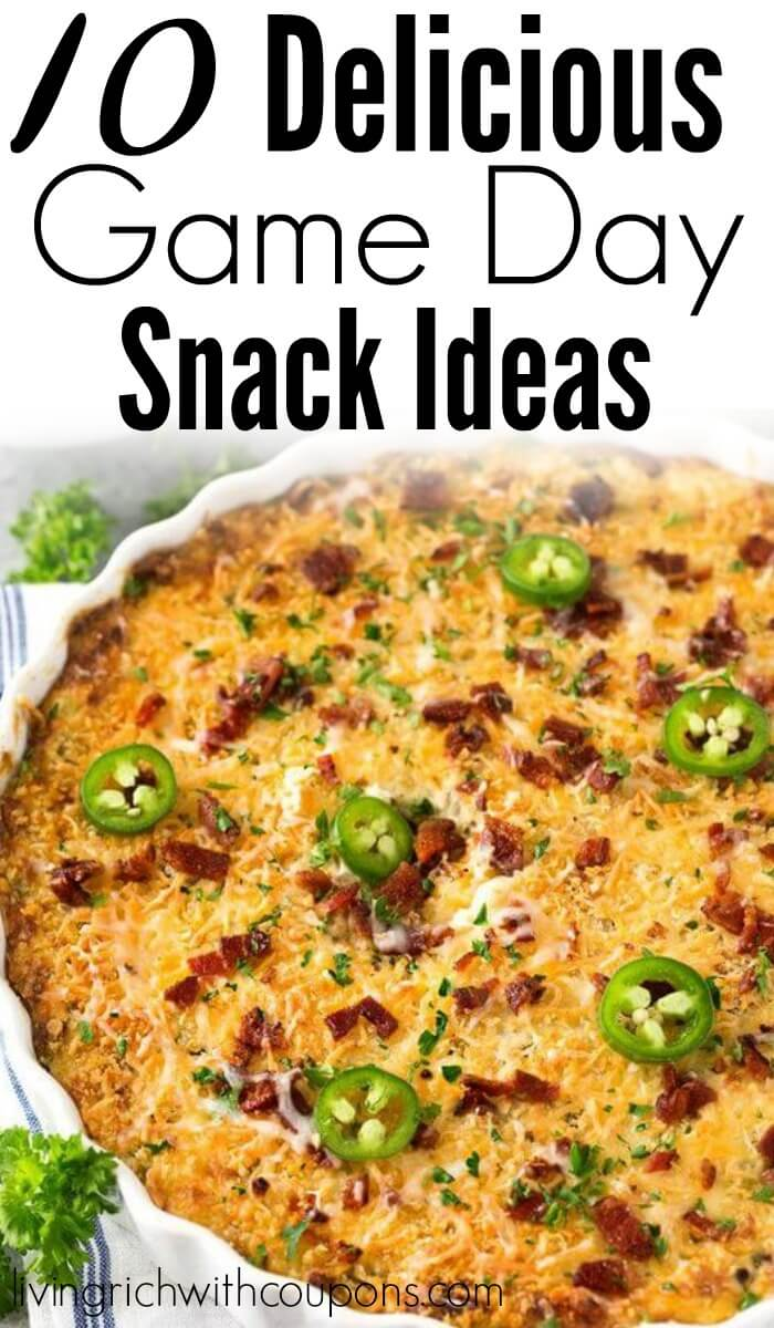 10 Delicious Game Day Snack Ideas