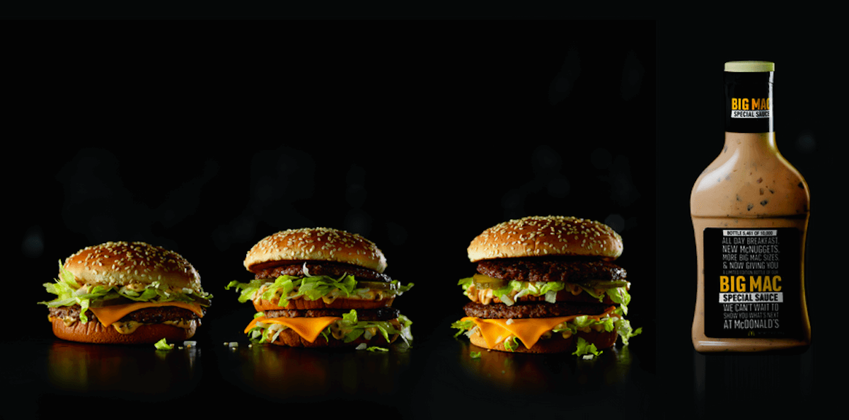 Mcdonalds is giving away 10000 limited edition bottles of big mcdonalds special sauce ccuart Image collections