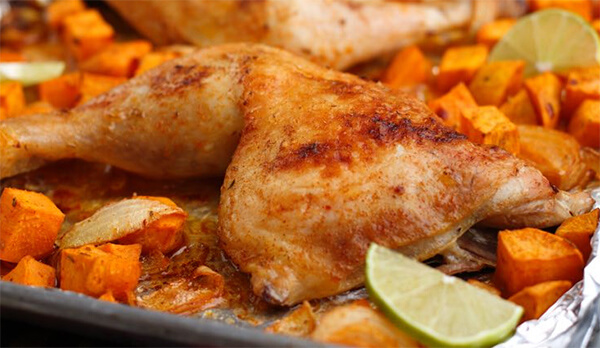 Southwest Roasted Chicken