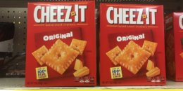 Cheez-It Snack Crackers Just $0.75  at ShopRite! {8/25}