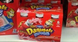 Danimals 6pk Smoothies, $1.38 at Acme!