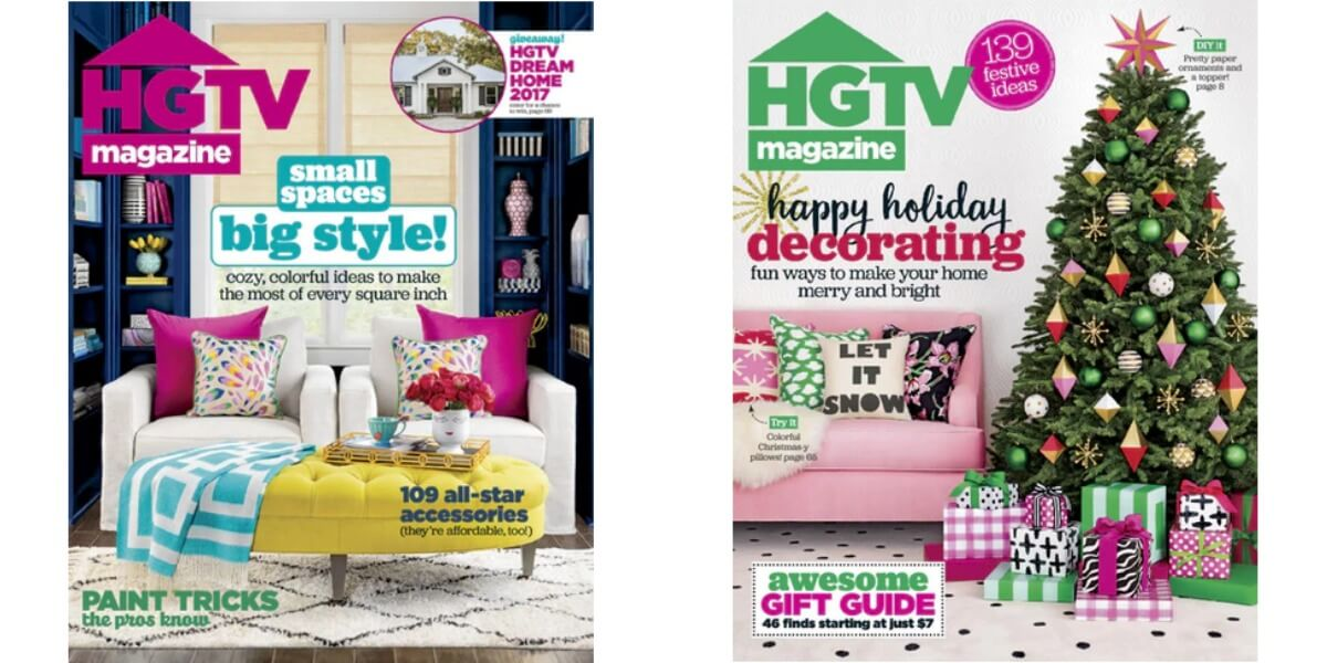 HGTV Magazine Only $12.95/YearLiving Rich With Coupons®