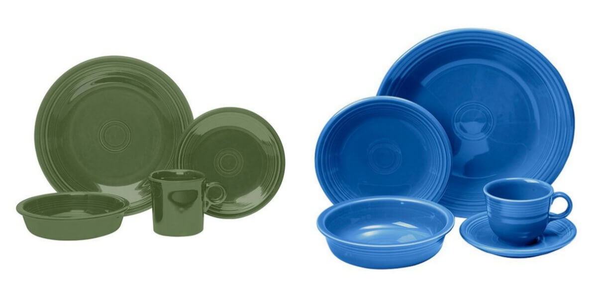 plate  sc 1 st  Living Rich With Coupons & 4) 5-Piece or 4-Piece Fiesta Dinnerware Place Setting Sets for $62 + ...