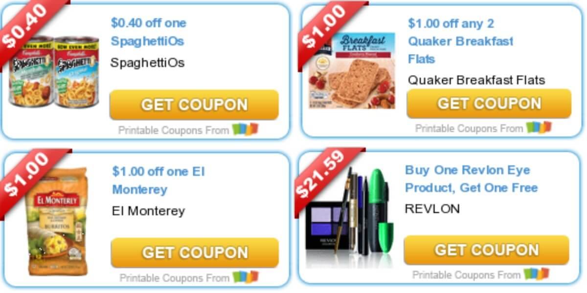 photo regarding Amope Printable Coupon named Todays Supreme Clean Discount codes - Personal savings versus Quaker, Amope, El