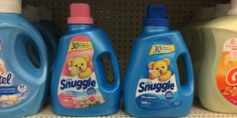 $1.88 Snuggle Liquid Fabric Softener or Dryer Sheets at Walgreens!