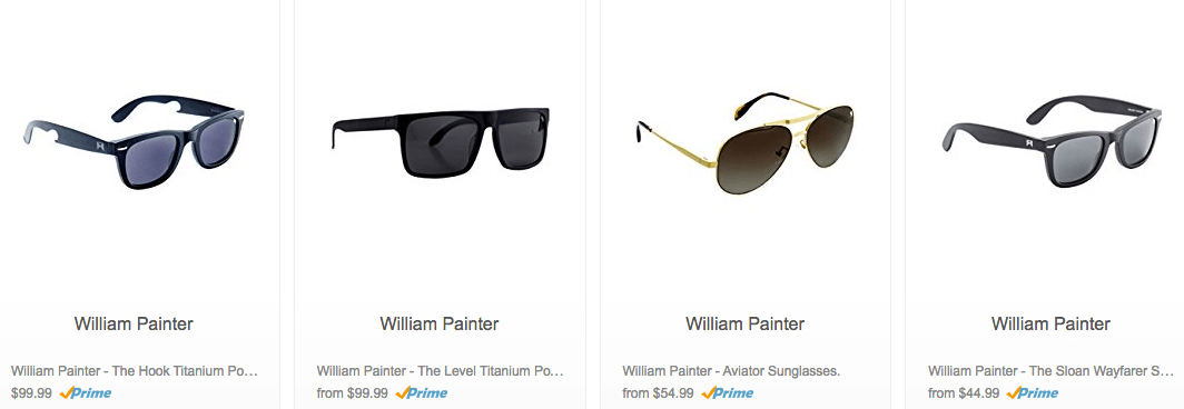 40a1bcb499 Up to 50% Off William Painter Sunglasses Starting at  44.99Living ...
