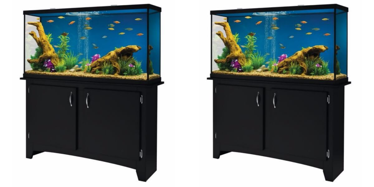 Marineland 60 Gallon Heartland LED Aquarium with Stand ...