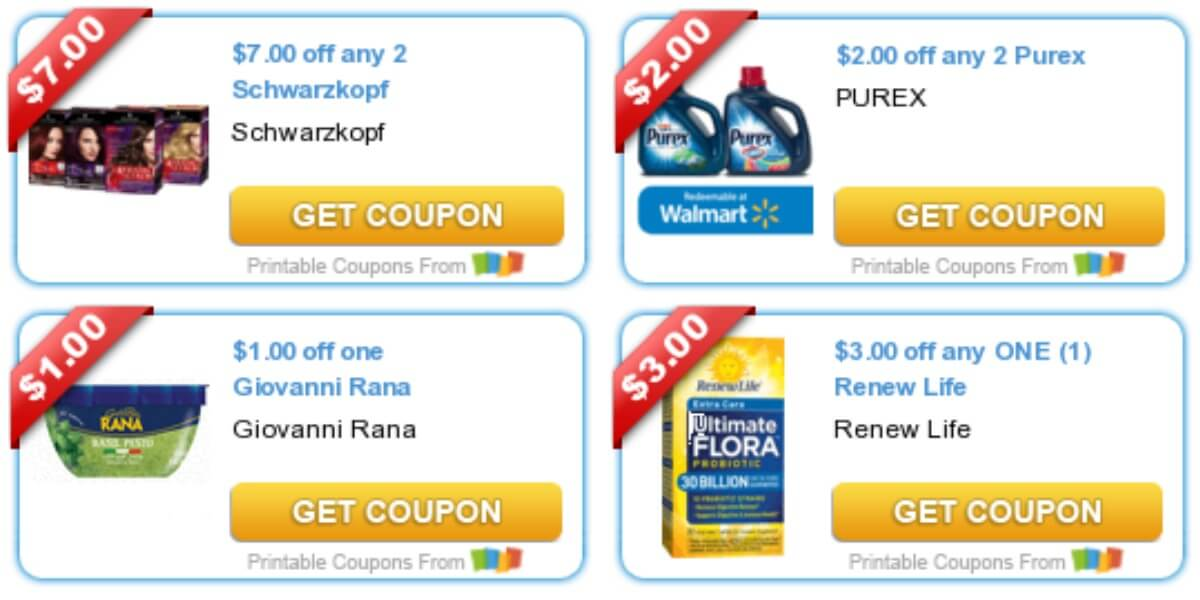 photo regarding Renew Life Coupon Printable named Todays Best Fresh Discount coupons - Cost savings in opposition to Character Valley, Purex