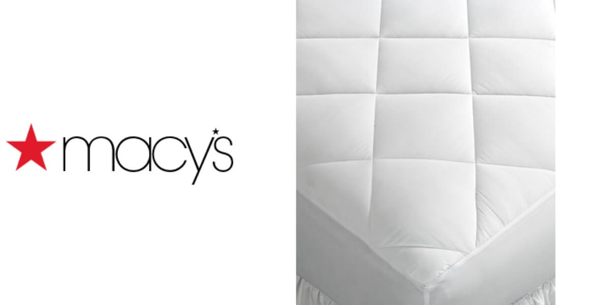 Macy's: Home Design Quilted Mattress Pads All Sizes $14.99 (Reg. $50 on futon pad, foam pad, leather pad, chest pad, lambswool sheepskin pad, egg crate pad, shower pad, concrete pad, spring pad, vibrating crib pad, magnet pad, cool pad, bed pad, couch pad, sleep pad, bumper pad, slumber pad, floor pad, sleeping bag pad, queen size pad,