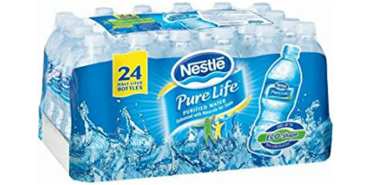 New Coupon Nestle Water 24 Pack Just 2 80 At Family
