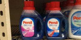 Persil ProClean Liquid Laundry Detergent Just $1.24 at Walmart! {Ibotta Rebate}