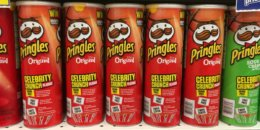 Print $1 off Pringles Full Size Cans Coupon | $0.48 at Walmart {Ibotta Rebate} & More
