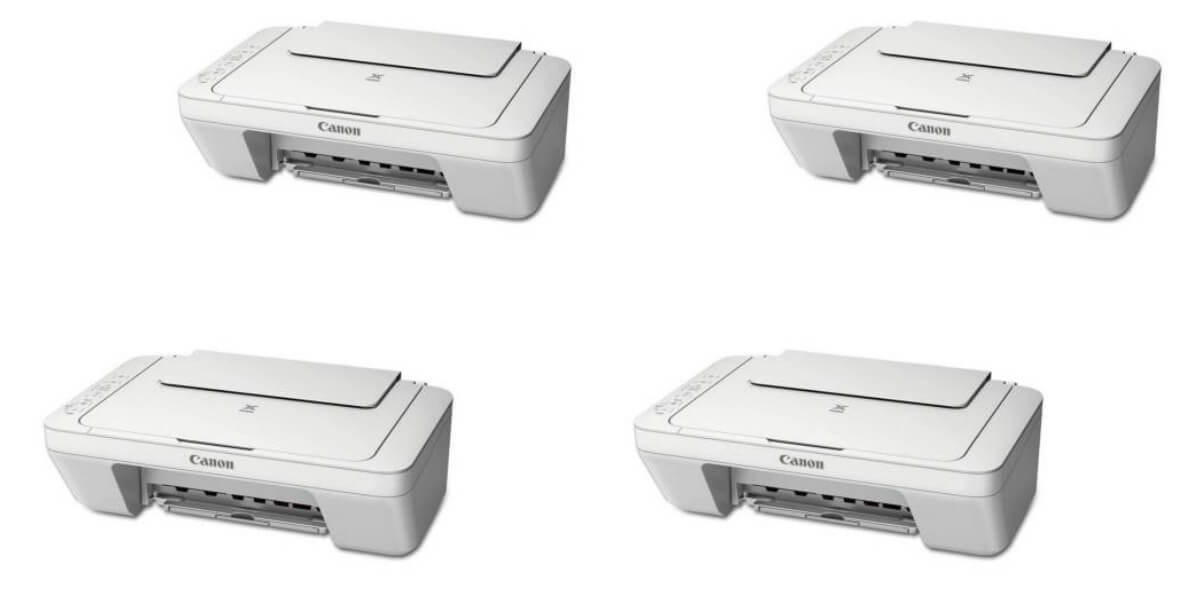 Canon Pixma All In One Color Printer Scanner Copier 2 Pack