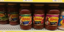 Ragu Pasta Sauce as low as $0.75 each at Stop & Shop, Giant, and Giant/Martin {3/23}