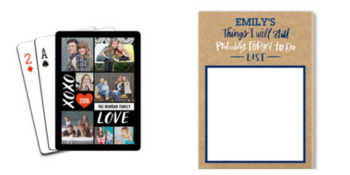 Shutterfly Pick Two Free Playing Cards 16x20 Collage Print 16x20