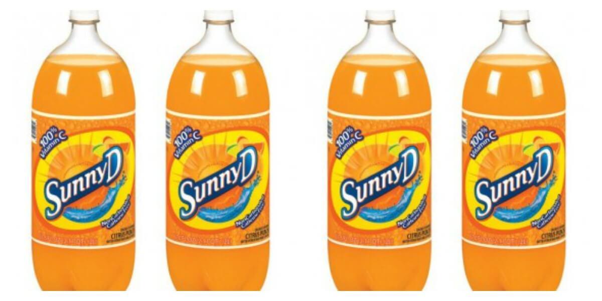 Sunny D 2-Liter Bottles Just $0 19 at ShopRite!Living Rich
