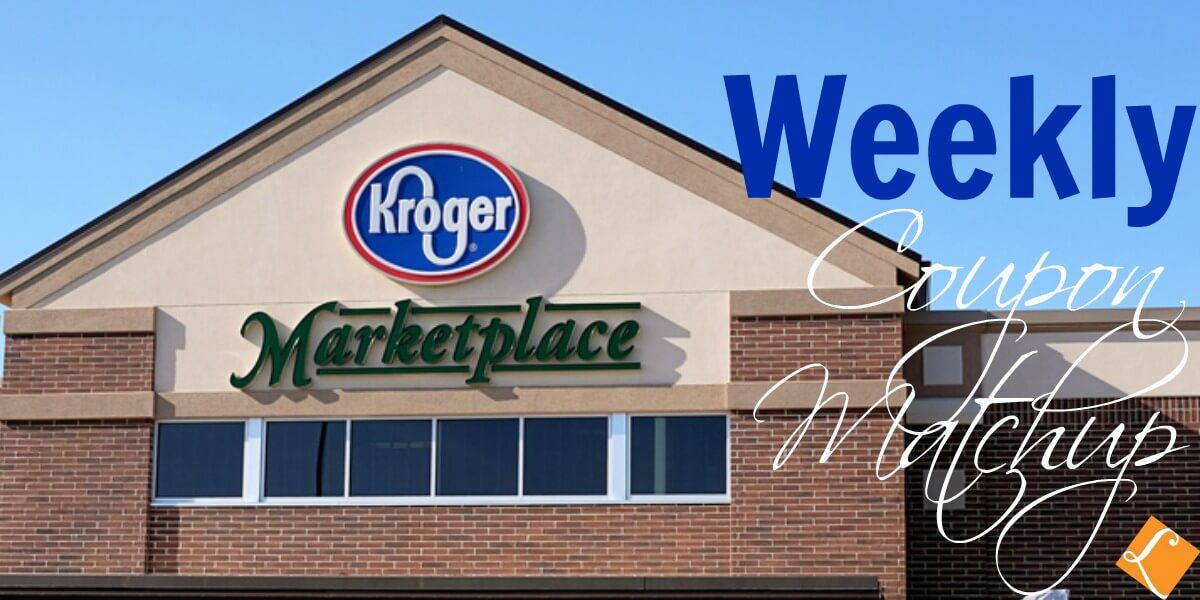 Kroger Coupon Match Ups 3/13