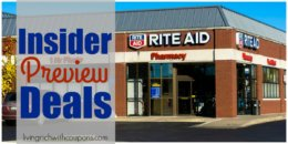 Insider Preview of the Best Deals at Rite Aid Starting 3/1