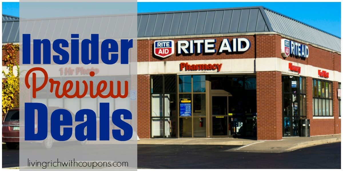 Rite Aid Preview Ad 1/20