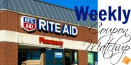 New Rite Aid Match Ups that will Help You Save Big - Week of 12/16