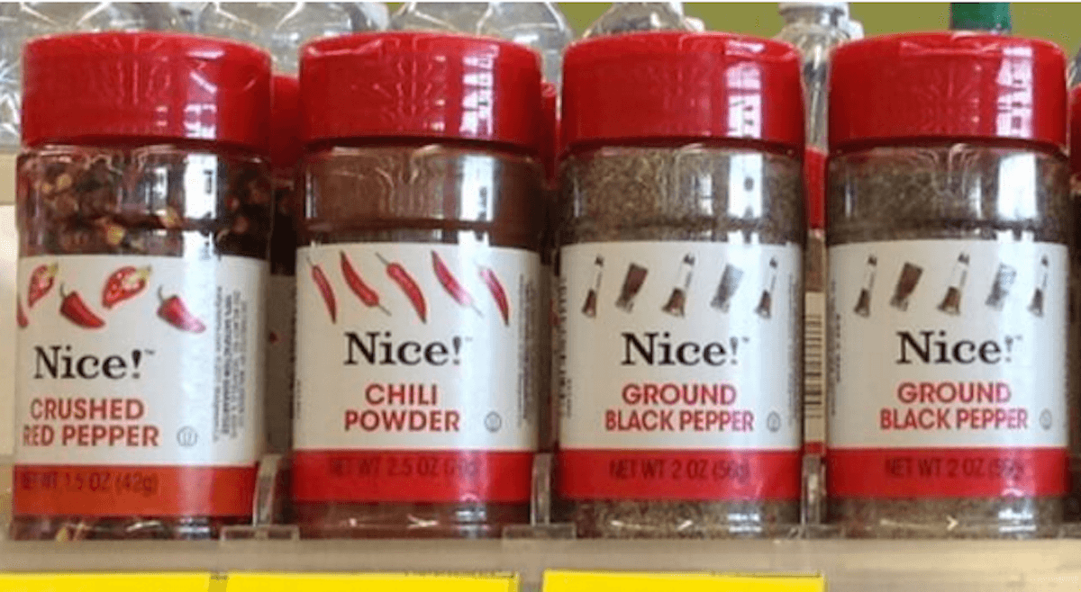 Walgreens Shoppers 0 79 Nice Brand Seasoning Amp Spices
