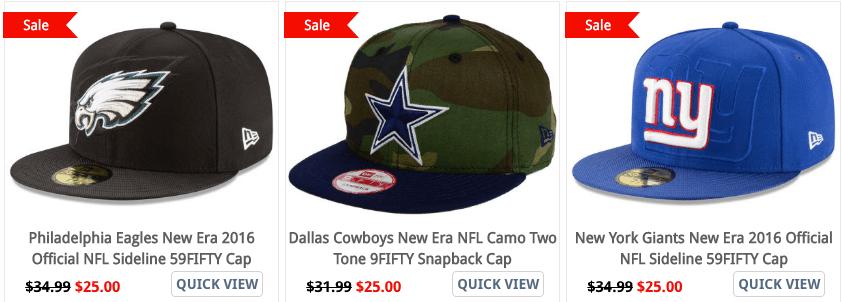98557aa5d8e Lids  NFL Hats (Fitted
