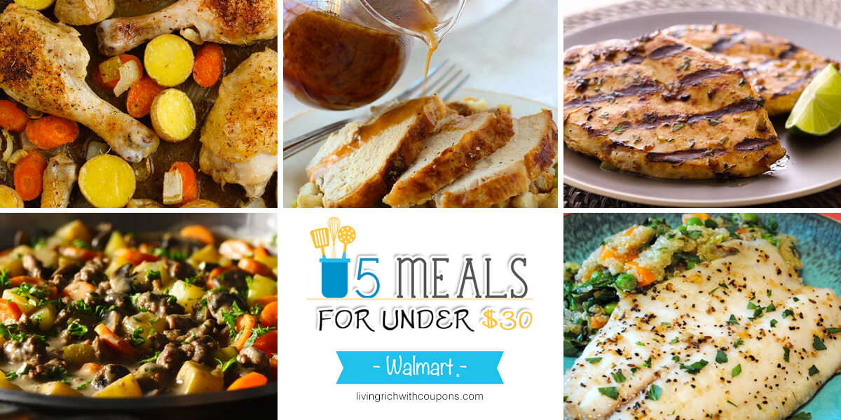 free weekly meal planning at walmart that will make your life